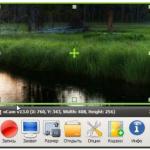 Программа oCam — запись экрана и снятие скриншотов