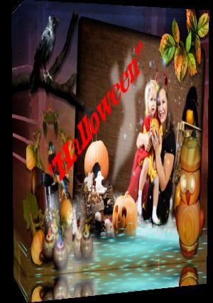 """HALLOWEEN"" Готовый проект для Proshow Produser 5 - 6"