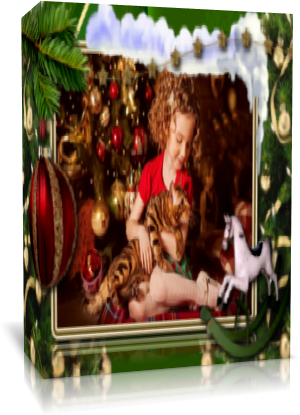 «Детское Рождество». Готовый проект для Proshow Produсer