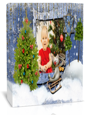 «Merry Christmas!» Готовый проект для Proshow Produсer