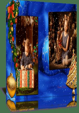 """""""С Новым Годом и Рождеством"""", Готовый проект для Proshow Produser 5 - 6"""