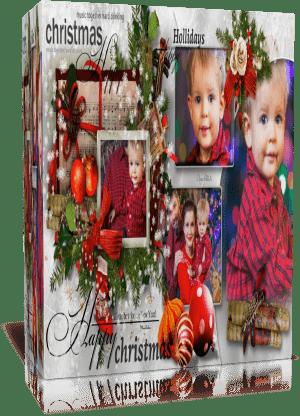 Защищено: Merry Christmas. Готовый проект для Proshow Producer  в подарок!