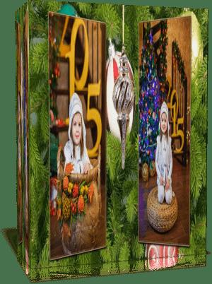 «Вспоминая Рождество», Готовый проект для Proshow Produser