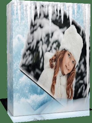 Снежный вальс. Готовый проект для Proshow Produсer