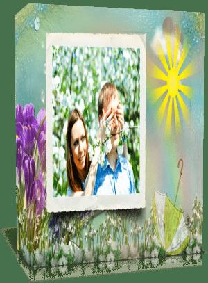 «Светлая весна», Готовый проект для Proshow Producer