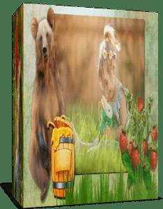 """""""Мишки любят мёд"""", Готовый детский проект для Proshow Producer"""