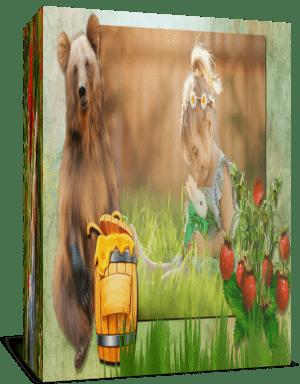 «Мишки любят мёд», Готовый детский проект для Proshow Producer