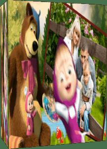 Маша и Медведь. Готовый детский проект для Proshow Producer