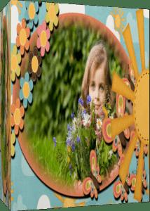 Бабочки-цветочки