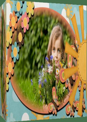 «Бабочки-цветочки». Готовый проект для Proshow Producer