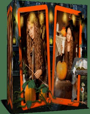Веселый Хэллоуин. Готовый проект для Proshow Producer
