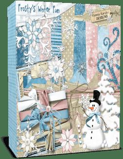 Зима. Проект для Proshow Producer