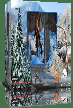 Ледяное озеро. Зимний проект и стили для Proshow Producer