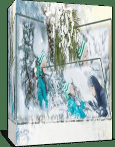 Снегопад 1. Стиль для Proshow Producer