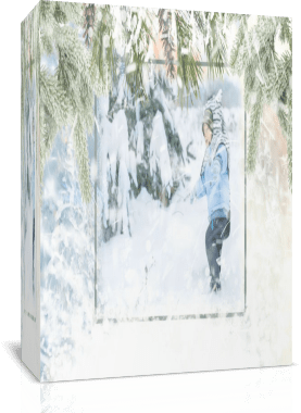 Снегопад 3. Стиль для Proshow Producer бесплатно