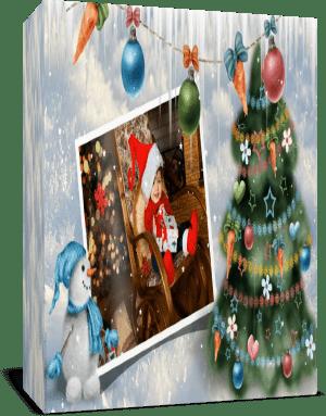 Рождественские искорки. Стили для Proshow Producer+переход Петушок
