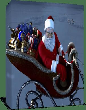 Рождество к нам мчится