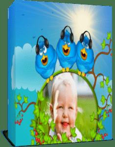 Голубые птички.  Проект для Proshow Producer