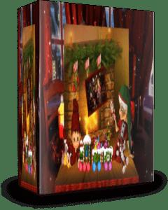 Рождественская книжка-раскладушка. Проект для Proshow Producer