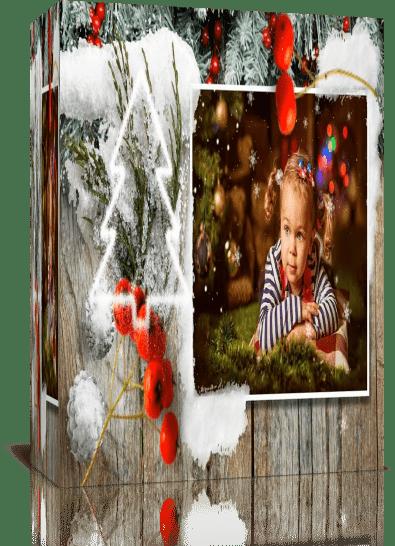 Снежное Рождество. Проект для Proshow Producer