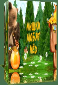 Мишки любят мёд. Проект для Proshow Producer+скрап-набор+инструкция