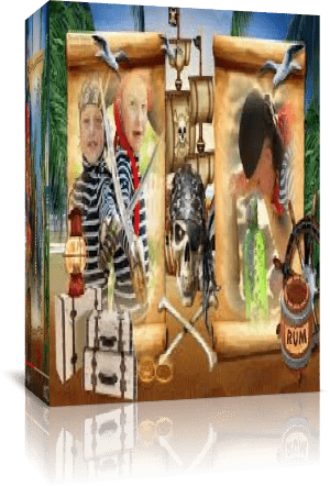 Пираты. Проект Proshow Producer + переходы + скрап набор. Полная версия