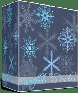 Кисти «Снежинки» для Photoshop