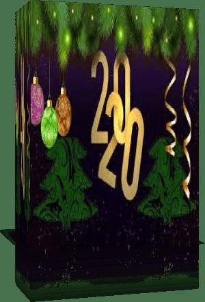 Поздравляю с Новым 2020 годом! Стили для PSP в подарок!