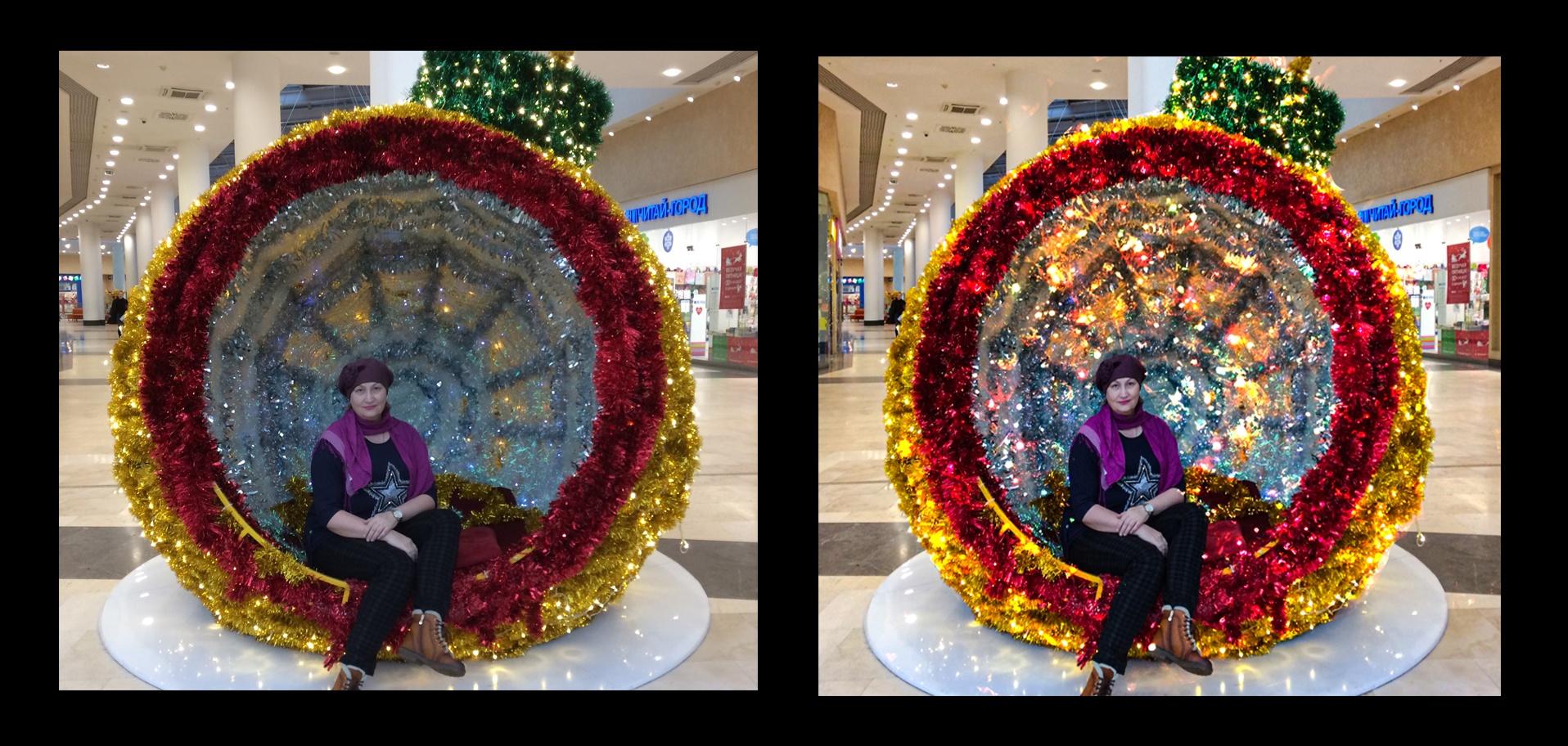 Обработка новогодней фотографии в Photoshop. Мастер-класс Татьяны Черновой