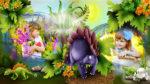 Динозаврики. Проект для Proshow Producer+все исходники+лицензионная музыка+урок по редактированию